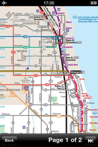芝加哥(美国)地图下载列车线路图和旅游指南