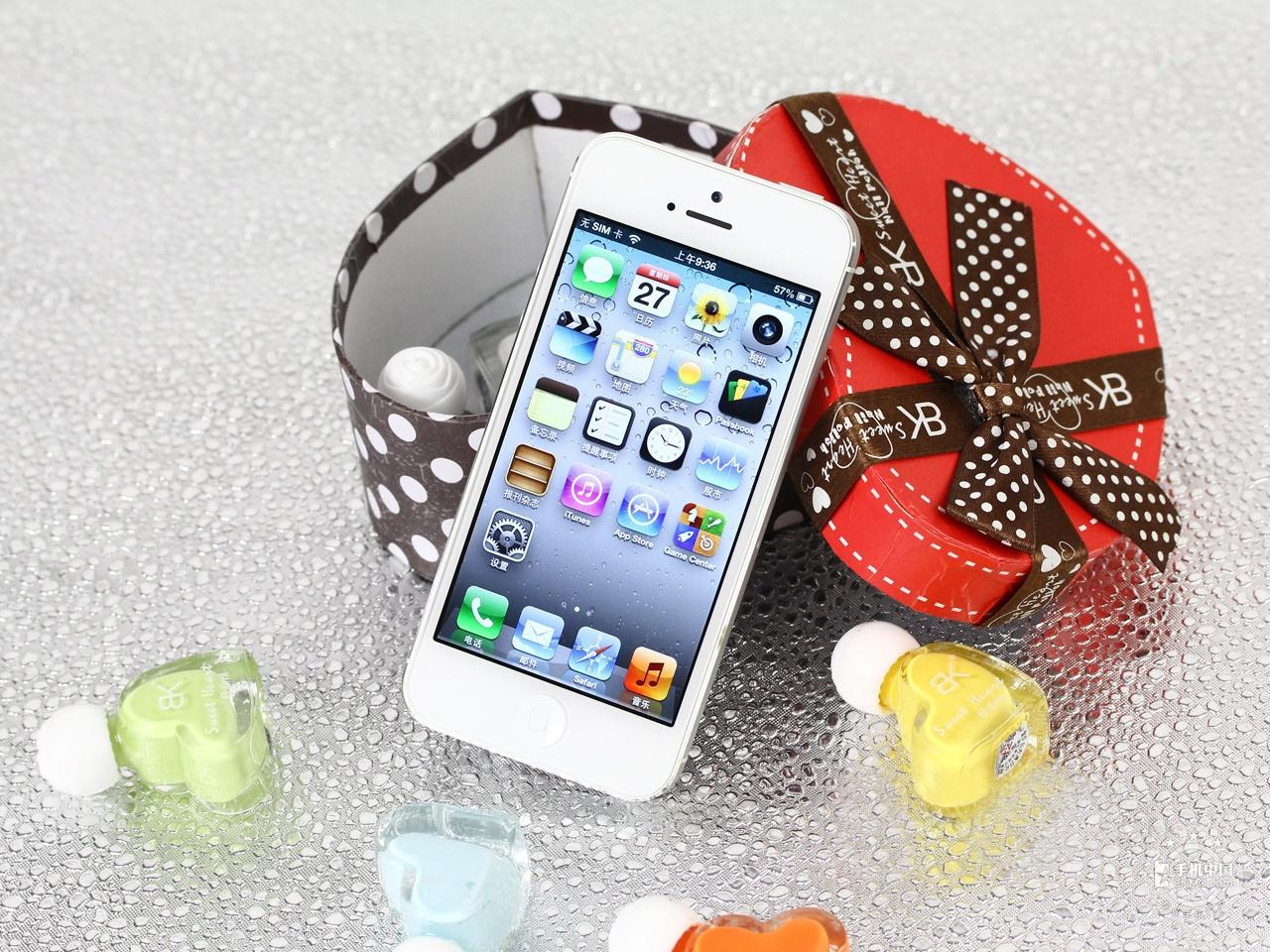 苹果iPhone5(联通版)整体外观第4张