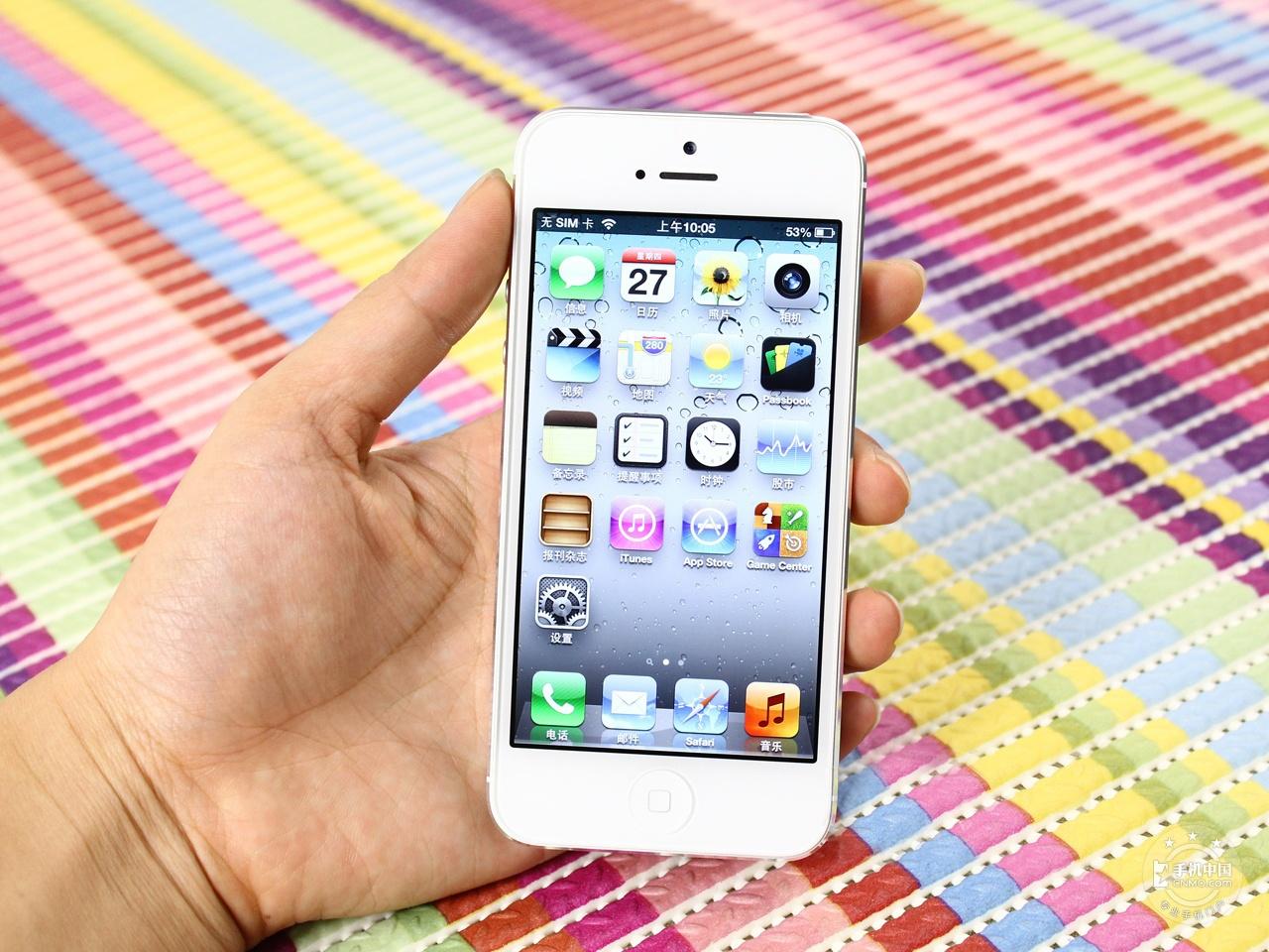 苹果iPhone5(64GB)整体外观第2张