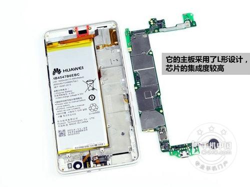 华为荣耀6 plus电信版手机拆机图赏图片