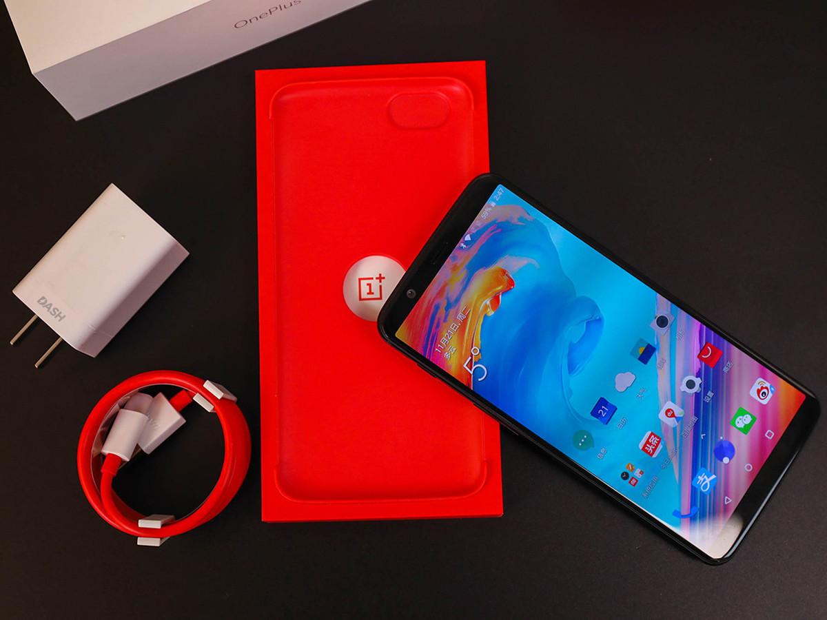 一加手机5T(64GB)整体外观第6张