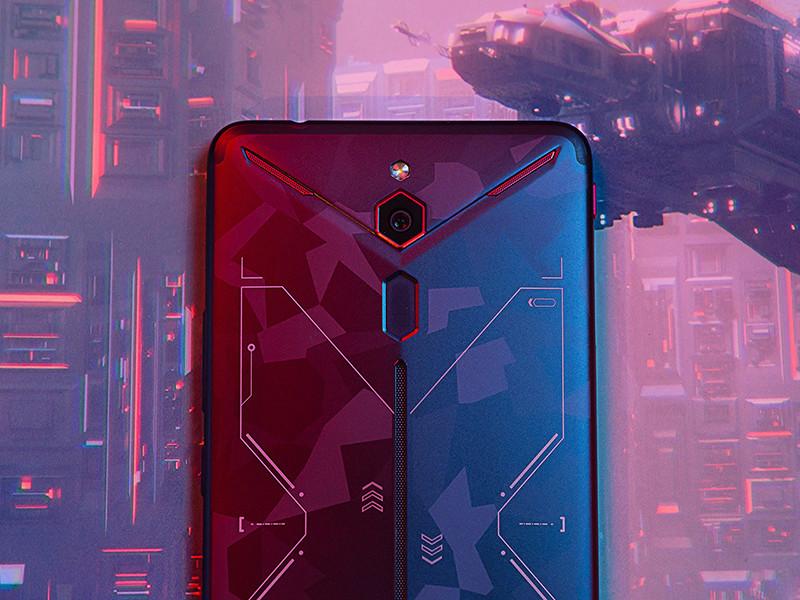 努比亚红魔Mars电竞手机(256GB)机身细节第4张