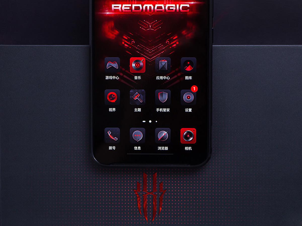 努比亚红魔3电竞手机(12+256GB)机身细节第2张