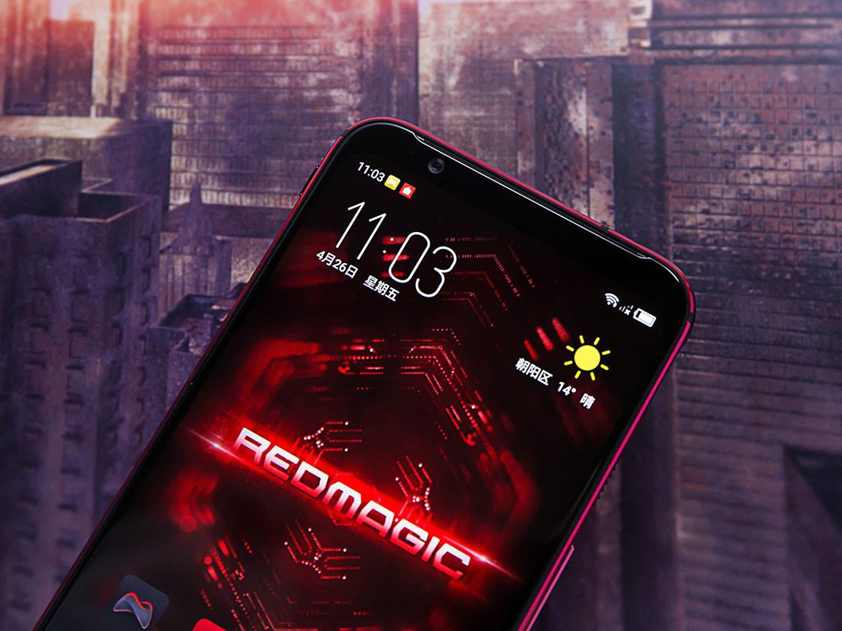 努比亚红魔3电竞手机(8+128GB)机身细节第1张
