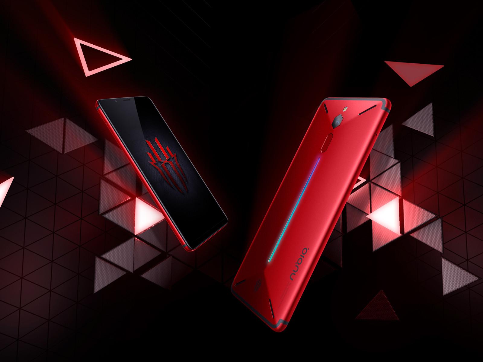 努比亚红魔电竞游戏手机(64GB)整体外观第8张