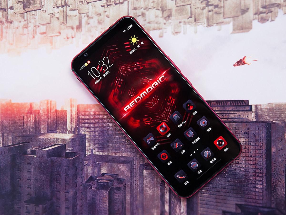 努比亚红魔3电竞手机(8+128GB)整体外观第1张