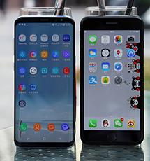 三星S8对比iPhone 7P